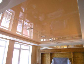 натяжные потолоки пвх в интерьере