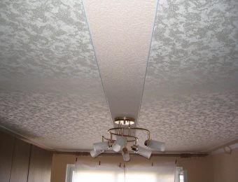 тканевые натяжные потолки с подсветкой