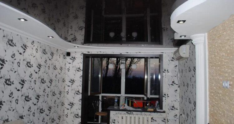 Черные натяжные потолки в Москве