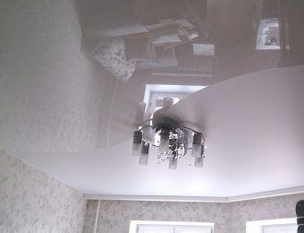 комбинированные натяжные потолки с установкой