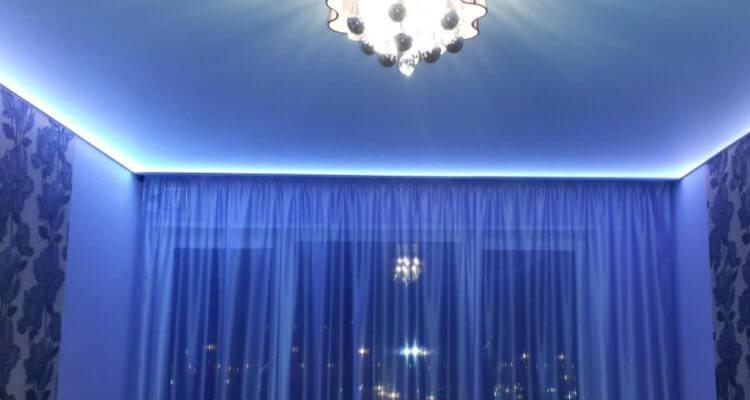 Парящие натяжные потолки в Москве