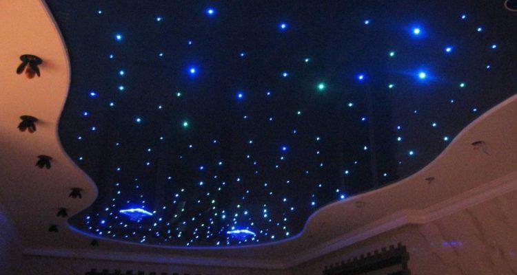Натяжной потолок звездное небо в Москве