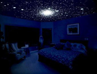 натяжной потолок звездное небо с установкой