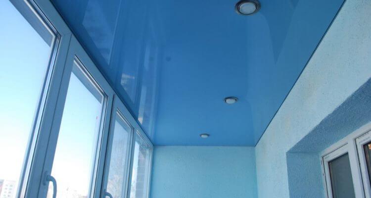 Натяжные потолки на балкон в Москве